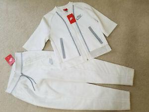 Nuevo Con Etiquetas Nike Tech Fleece Splatter Para Mujer Sudor Pantalones Blanco Estilo 803010 Talla Xs 150 Ebay