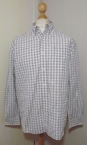 Mens-Timberland-Long-Sleeve-Check-Shirt-Size-Large-to-XL-Chest-46-039-039