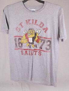 Official-AFL-St-Kilda-Saints-Mens-Tee-Size-M