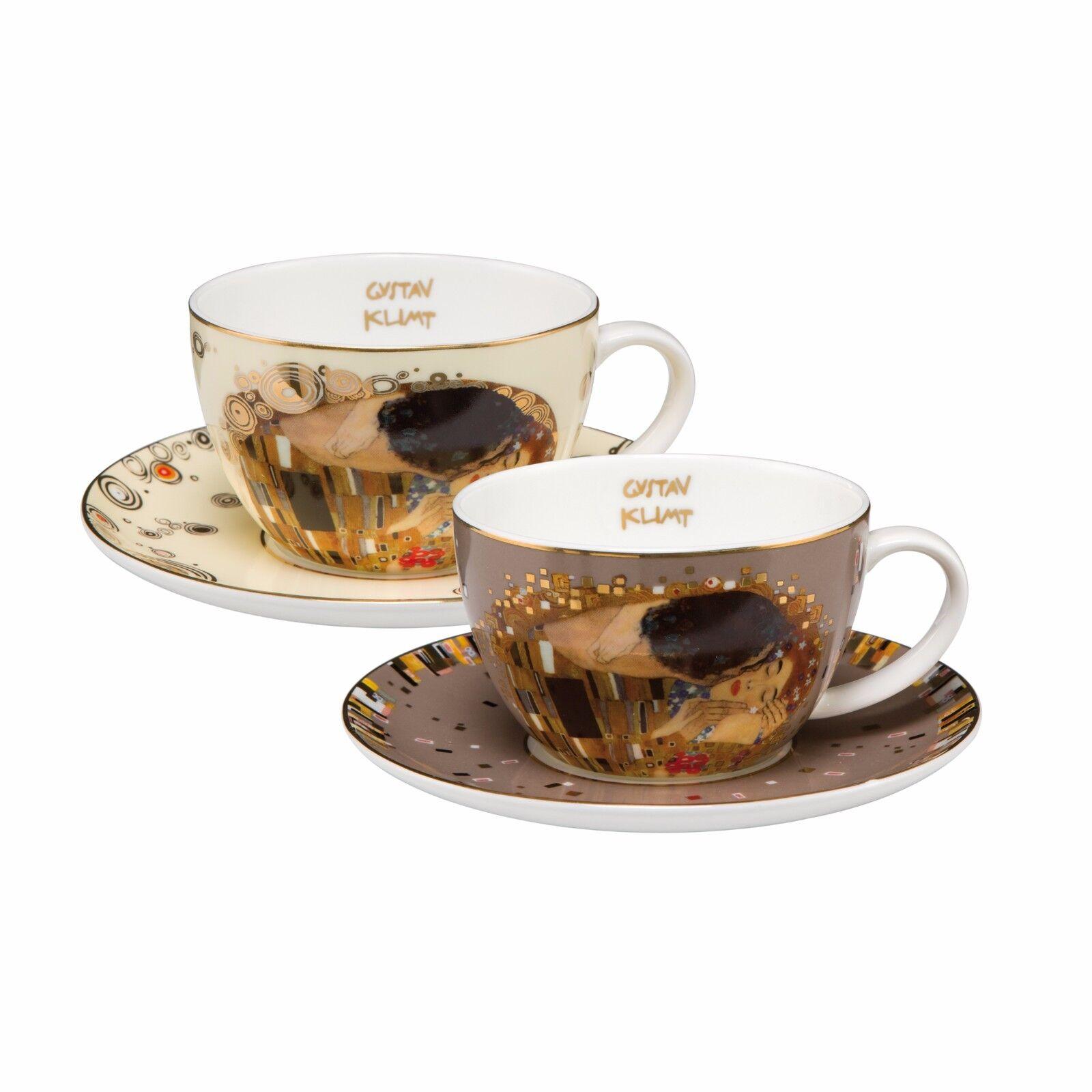 Goebel Le bisou des tasses de thé set tasses Limitée Nouveauté 2017 GUSTAV KLIMT