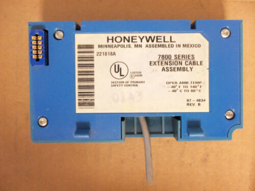 Honeywell Burner Control 7800 Series Extension Cable Assembly