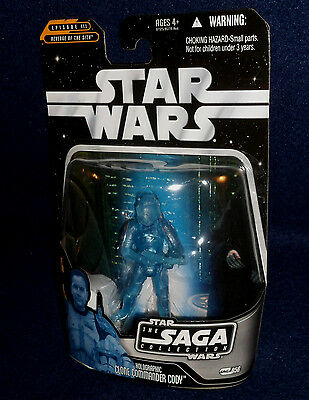 Holographic Clone Commander Cody 2006 STAR WARS The Saga Collection MOC #056 56