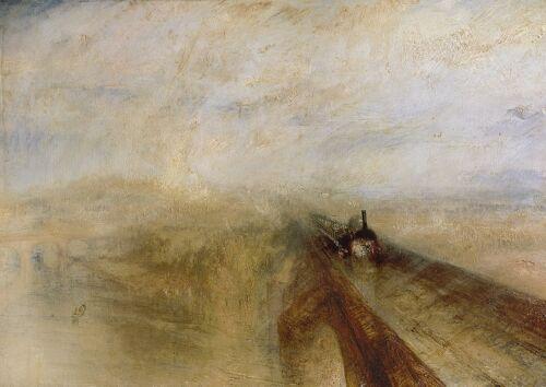 Steam and Speed William Turner: Rain Print//Poster 3576 Great.Western Railway