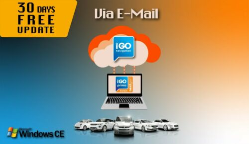 VIA E-MAIL Licensed WinCE GPS Navi Software iGO Primo NextGen EUR//RUS//TUR TRUCK