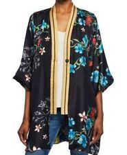 Johnny Was Bianca Silk Printed Reversible Kimono Boho Chic C41219 NEW