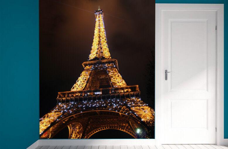 3D Eiffel Tower 765 Wall Paper Murals Wall Print Wall Wallpaper Mural AU Summer