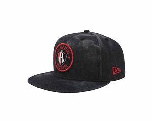 New-Era-59Fifty-Hat-Guadalajara-Atlas-Soccer-Club-Mexican-League-Denim-Black-Cap