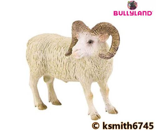 Bullyland RAM solide Jouet en plastique animal ferme Pet Animal mâle Moutons * NOUVEAU *