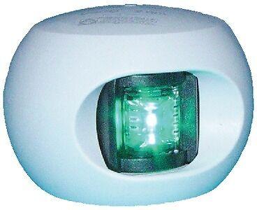 New Series 34 Led Bulkhead Mount Side Lights aqua Signal 343037 Port Red Lens Wh