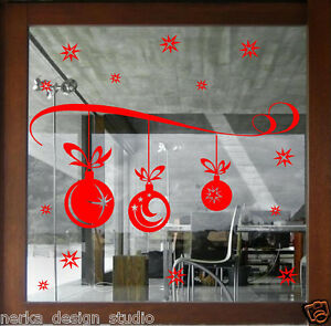 Christmas Wall Stickers XMAS Shop Window Sticker HUGE XMAS STICKER DECAL  N101