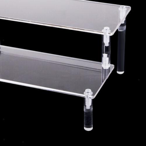 Acrylkosmetik Lagerregal Abnehmbare Modellfiguren Displayständer 2 Tier