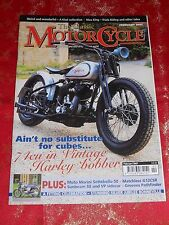 CLASSIC MOTORCYCLE MAGAZINE FEB 07,TRIUMPH T140J,HARLEY VL,GREEVES M59,MORINI 50