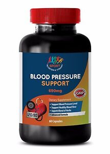 Boost Heart Function Caps Blood Pressure Complex 690mg Hibiscus