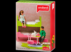 Lundby-Smaland-Childrens-Bunk-Beds-Brand-New