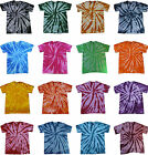 Tie Dye T Shirts New Multi Colors Twist Variation Size Youth XS to Adult 3XL