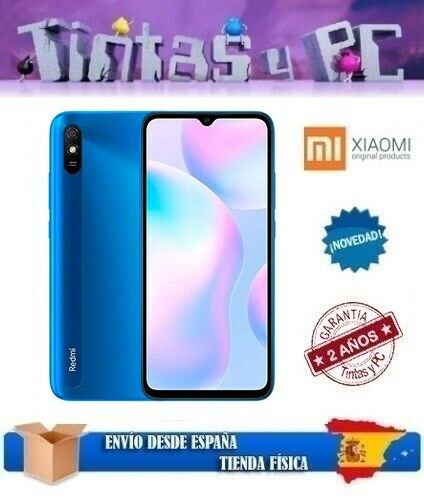 xiaomi: XIAOMI REDMI 9AT 32GB. 2GB RAM. MEDIATEK HELIO G25. ¡¡VERSIÓN GLOBAL ESPAÑOL!!