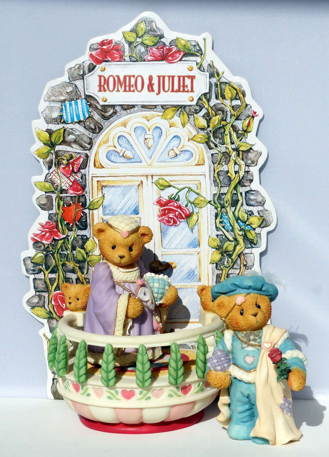Cherished Cherished Cherished Teddies - Romeo & Juliet - limited Edition 1997 - Collector Set 52e78c