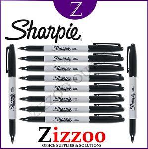 Image Is Loading Sharpie Marker Pens Black Permanent Fine Various Quanies