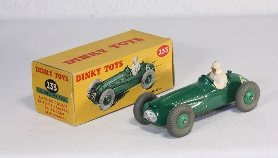 DINKY TOYS 233, Cooper Bristol, Mint in Box  ab1626