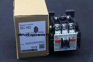 1Pcs NEW FUJI SC-N2 Magnetic Contactor 100-110VAC SCN2