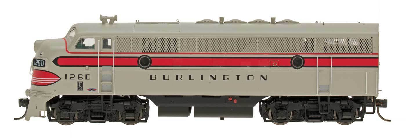InterMountain HO 49140 S  CB&Q  F3A Locomotive
