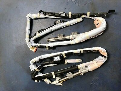 2012-2014 TOYOTA CAMRY DRIVER /& PASSENGER ROOF CURTAIN AIRBAG PAIR
