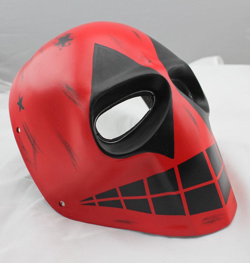 NEW rosso Paintball Airsoft Full Face PC Lens Eye Prossoection Skull Mask Halloween
