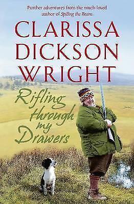 """AS NEW"" Rifling Through My Drawers, Dickson Wright, Clarissa, Book"