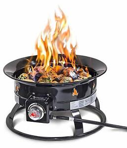 Outland Firebowl 893 Deluxe Outdoor Portable Propane Gas ... on Outland Gas Fire Pit id=49302