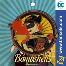 DC COMICS BOMBSHELLS BATWOMAN Collectors Metal Enamel Pin FanSets