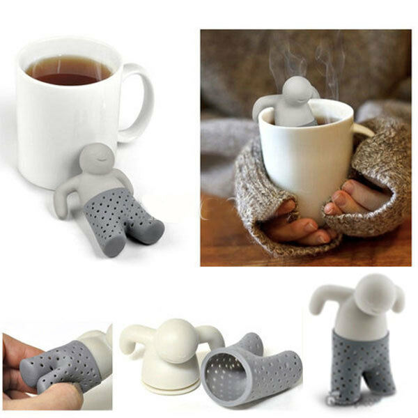 Tea Infusers Silicone Loose Tea Leaf Strainer Herbal Spice Filter Diffuser 898