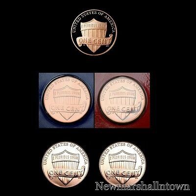 2011 P+D Lincoln Shield Set in Original Mint Wrappers and from Bank Rolls