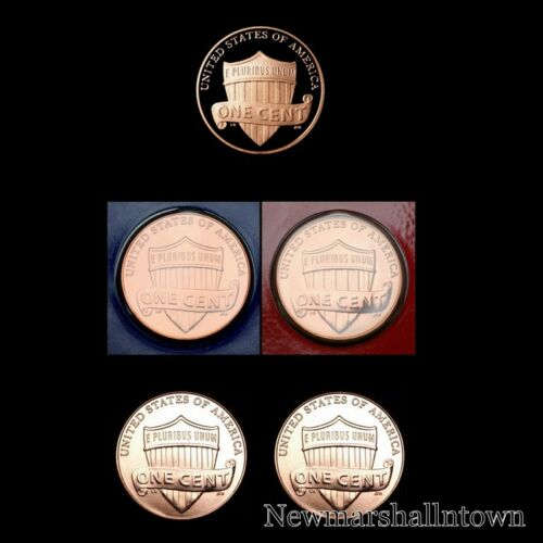 Business PD Strikes 2017 P+D+S Lincoln Shield Proof Penny Mint Set