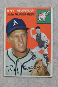 1954 Topps #49 RAY MURRAY - PHILADELPHIA ATHLETICS - Vintage Baseball Card