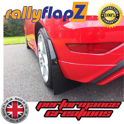 rallyflapZ FORD FIESTA ST150 Mud Flap Material x 4 Red 3mm PVC 450mm x 300mm