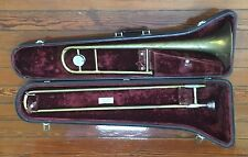 1960 Conn 14H Director model USA Trombone w/ Hard Case 12C Mouthpiece