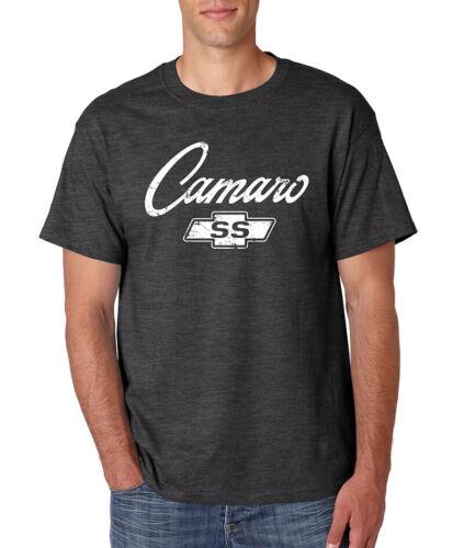 CAMARO SS Logo T-Shirt Chevy Chevrolet Classic American Muscle Car Hot Rod Tee