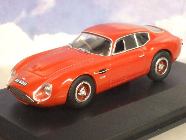 "Oxford Diecast 1/43 1960 Aston Martin Db4gt Db4 Gt Zagato"" Ae 1270cm Rojo"