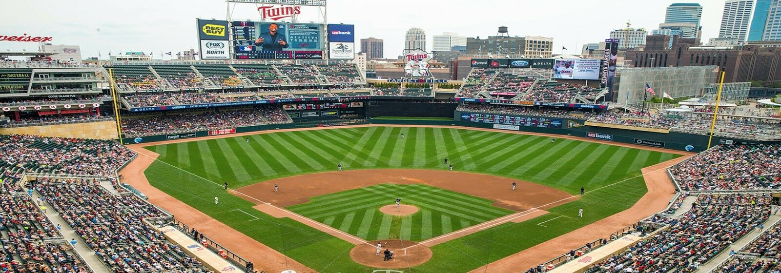 Detroit Tigers at Minnesota Twins Tickets (Twins Stocking Cap Giveaway)