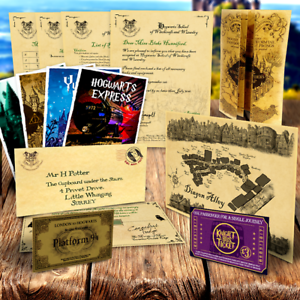 Customised-Hogwarts-Acceptance-Letter-Marauders-Map-Christmas-Gift-Harry-Potter