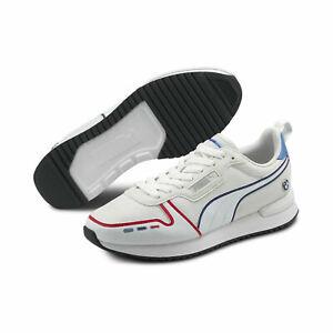 NIB Men's Puma BMW M Motorsport R78 Sneakers Shoes  306786 02 White