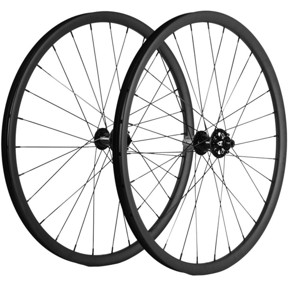 MTB DIsc  Brake Wheelset 27.5er Tubuless Carbon Wheels Cyclocross Bicycle Wheel  outlet online