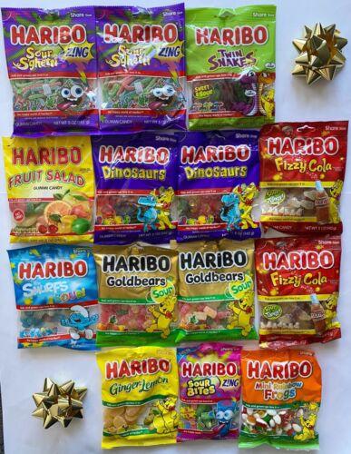 9001624 THE HARIBO MEGA CHRISTMAS GIFT PACK XMAS SANTA FAMILY PRESENTS HOLIDAYS