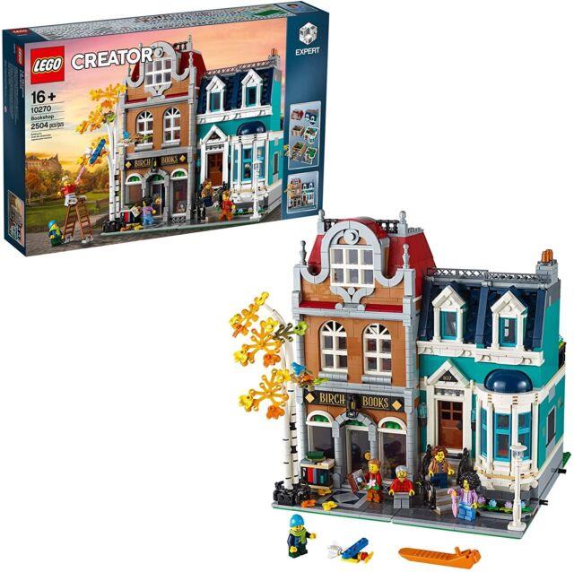 Lego 10270 Creator Expert Bookshop Brand New Sealed Building Model Brick Modular