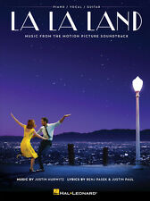 La La Land Music From The Motion Picture Soundtrack Piano Vocal Guitar Book NEW!
