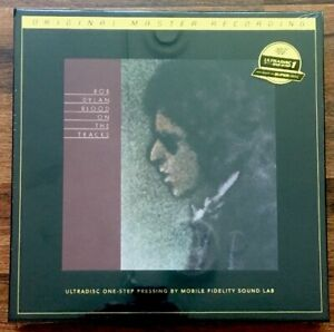 Bob-Dylan-Blood-On-Tracks-LP-Box-Set-Vinyl-New-Lt-MOFI-UltraDisc-One-Step