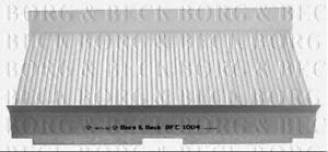 Borg-amp-Beck-Cabin-Pollenfilter-fuer-Citroen-Fliessheck-C2-1-6-80KW