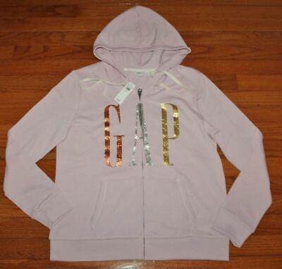 NEU NWT Damen GAP Glitzer Bling Logo Hoodie Full Zipper Kapuzen Sweatshirt * e9   eBay