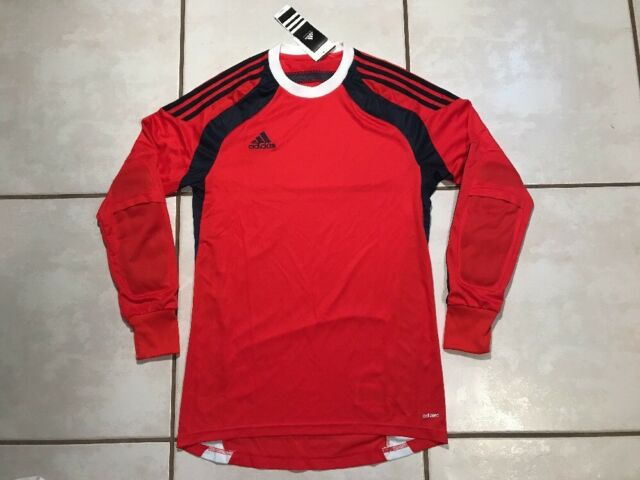 23e03c29c53 NWT ADIDAS Adizero Onore RED PADDED Goalkeeper Soccer Jersey Men's Large
