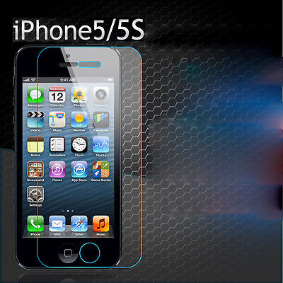 Real Premium Tempered Glass Screen Protector for iPhone5/5S/5C Cbeca